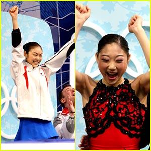 Kim Yuna Won Gold in Ladies Figure Skating at 2010 Olypics at Vancouver
