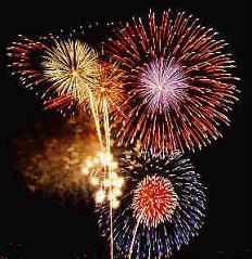 What Kind of Simple Chemical Reaction Occurs in Fireworks