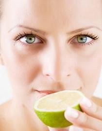 lemon juice to whiten skin