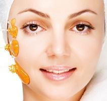 honey to clear skin