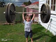 weightlifting stunt growth