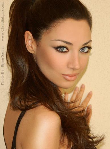 Persian women features
