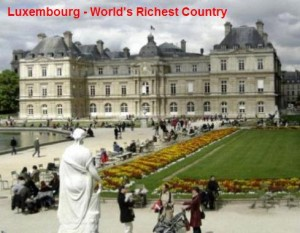 luxembourg worlds richest country