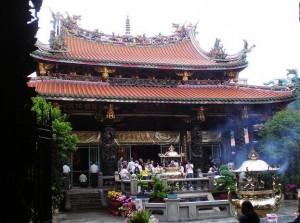 Dragon Mountain Temple in Taiwan