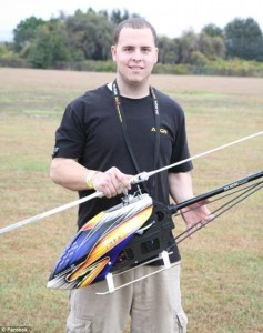 Roman Pirozek killed by his own RC helicopter