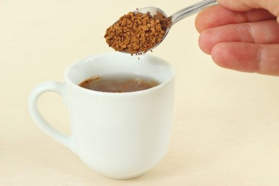 pouring-instant-coffee-into-cup